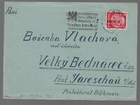 1940 Germany Buchenwald Concentration Camp Cover prisoner Vlach Wenzel
