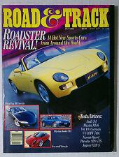 1992 JULY ROAD & TRACK VINTAGE CAR MAGAZINE PORSCHE CORVETTE DEL SOL DIAHATSU