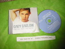CD Pop Gary Barlow - For All That You Want ( 1 Song) Promo BMG RCA