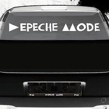 90cm weiß Fenster Auto Heck Aufkleber Tattoo die cut Deko Folie Depeche Mode