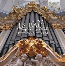 J.S. Bach / Stefano Molardi - Complete Organ Music [New CD]