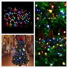 LED Lichterkette Weihnachten Party Tannenbaum innen Bunt Dekoration Beleuchtung