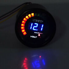 "2"" 52mm Digital 20 LED Elec Volt Voltmeter Voltage Gauge Meter For Car Motor SL"