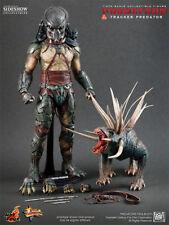 "1/6 Hot Toys Predators Tracker with Hound MMS147 Predator 14"" figure"
