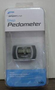 Sportline Step Digital LCD Pedometer 330 - New