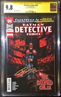Detective Comics #999 CGC SS 9.8 Signed by Peter Tomasi (DC 2019)