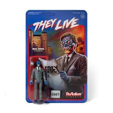 Male Ghoul Obey They Live 1989 John Carpenter 3 3/4 Inch ReAction Figur Super7