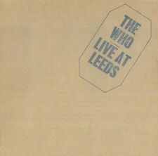 THE WHO - LIVE AT LEEDS - RARE CD