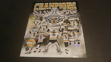 Boston Bruins 2011 Stanley Cup Unsigned 8x10 Photo