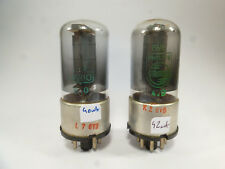 one pair, two 6V6GT 6V6 GT metal base Dario & Philips tested with U61C