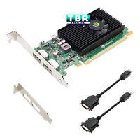 Nvidia NVS 310 Video Graphics Card 512MB Low SFF and Long Brackets VCNVS310DVI