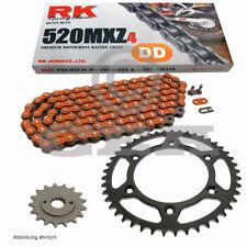 Kit de cadena KTM EGS 360 96-97 CADENA RK dd 520 MXZ4 118 ABIERTO NARANJA 15/40