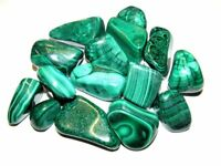 Tumbled Malachite 1/2 lb Lot Zentron™ Crystals