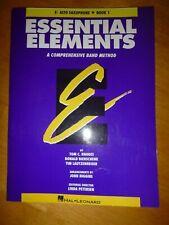 Essential Elements – Eb Alto Saxophone Book 1