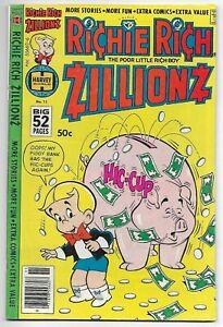 Richie Rich Zillionz #11 (Harvey 1978) – Little Dot – Little Lotta – 52 Pgs - FN
