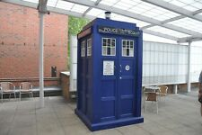Full sized Doctor Who TARDIS police box digital plans BENEFITS CHARITY