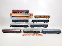 CM971-3# 9x Schicht/Piko/VEB/DDR H0/DC Bastler-Wagen: Mitropa + DR etc, Mängel