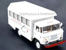 GAZ 66 KSP-2001 CAMION CABINET DENTAIRE MOBILE 1/43 DE16SP