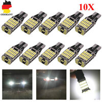 10x T15 LED 45 SMD Auto CANBUS Innenraum Beleuchtung Standlicht Birne 6000K DHL