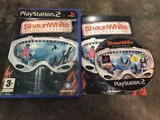 PS2 : shaun white snowboarding