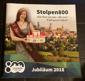 """Broschur Programm """"Stolpen 800 Ein Fest von uns - für uns! Und unsere Gäste"""""""