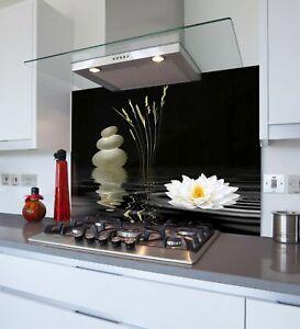 Printed Kitchen Glass Splashback - Toughened & Heat Resistant Cooker Panel 1051