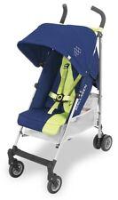 Maclaren Triumph Baby Lightweight Umbrella Fold Stroller Medieval Blue/Limeade