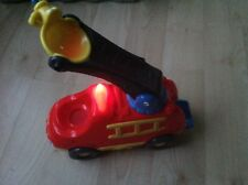 Playskool Weebles Fire Engine And Weebles