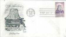 DEVILS TOWER FIRST DAY COVER - ARTMASTER CACHET!