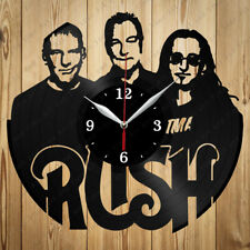 Vinyl Clock Rush Handmade Vinyl Record Clock Art Home Decor Original Gift