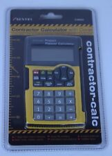 Sentry Contractor Calculator with Cover Black/Yellow Ca600 Free Shipping.