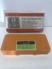 40 Piece Tap & Die Set Model No. 40-TD Tungsten Steel