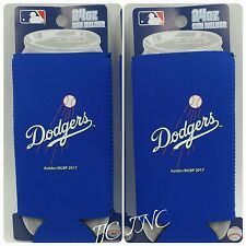 MLB Los Angeles Dodgers 24oz TUltra size Tall Boy Neoprene - 2 pack