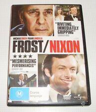 DVD - Frost/Nixon - Michael Sheen - Frank Langella - 116 mins - REDUCED!!