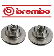 For Chevrolet C1500 Suburban GMC C2500 Set of 2 Front Brake Disc Brembo 18027868