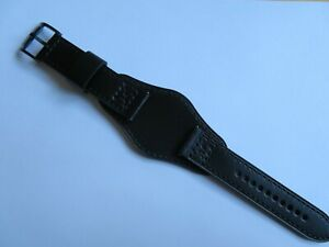 FOSSIL Original Ersatz/-Lederarmband JR1510 Uhrband mit Unterlage watch strap 22