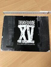 Original Thunderdome XV 15 Years Flyer Booklet Hardcore Gabber ID&T