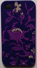 New Lucky Brand Silicone Cover Case For Apple iPhone 4 / 4S - Bali Batik Print