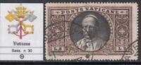 VATICANO 1933  Pope Pius X° - 2 Lire  cv 60$ used