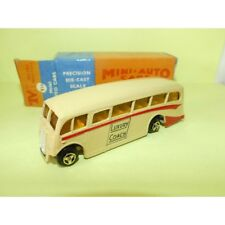 AUTOCAR BUS LUXURY COACH MILTON MINI AUTO CARS 816 Made in India 1970 Toys