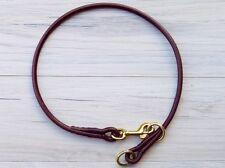 Premium Round Leather American Slip Collars - Handmade by Korbell Leads