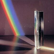 """3"""" Triangular Prism Optical Spectrum Glass for Photography Physics Teaching"""