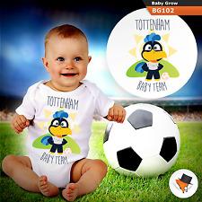 TOTTENHAM BABY FOOTBALL TEAM SPURS BABYGROW BABY GROW ALL SIZES NEW