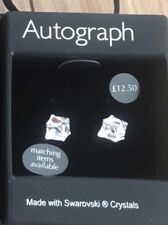 Autograph jewelry Earrings -Made With Swarovski Crystals