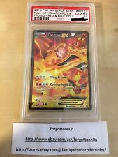 Pokemon Charizard EX XY121 Full Art PROMO RED & BLUE Collection PSA 10 Gem Mint