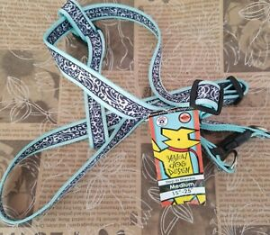 Yellow Dog Design Step-In Dog Harness - Size Medium Chantilly Teal