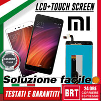 DISPLAY LCD+TOUCH SCREEN ORIGINALE per XIAOMI REDMI NOTE 4X GLOBAL SCHERMO VETRO