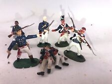 7 US Wounded War Of 1812 Napoleonic Waterloo Painted Figure 1/32-54mm CONTE