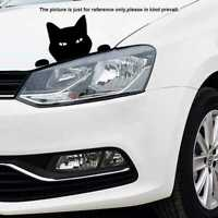Lustige Katze für JDM Auto/Bumper/Fenster Vinyl Aufkleber Decals` Z4U4 Aufk H0R1