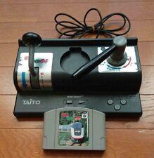 NINTENDO 64 Densha De Go Controller & Game Cartridge Set N64 TAITO